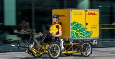 DHL Express Holanda faz entregas em bicicleta