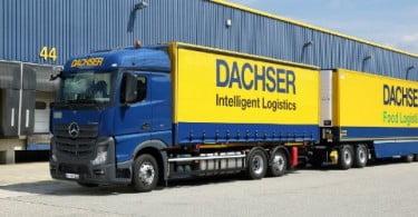 Dachser testa mega-camiões em dois percursos na Alemanha