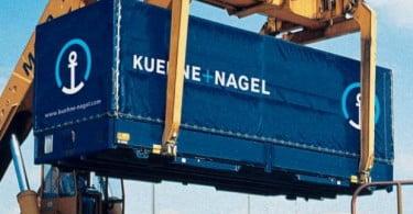Kuehne & Nagel com ganhos de 231 milhões no segundo trimestre