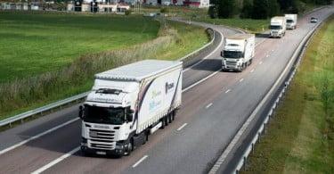 Scania lidera projeto de investigação europeu sobre platooning