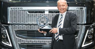 Novo Volvo FH é o camião do Ano 2014