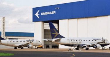 Embraer de Évora começa a produzir em julho