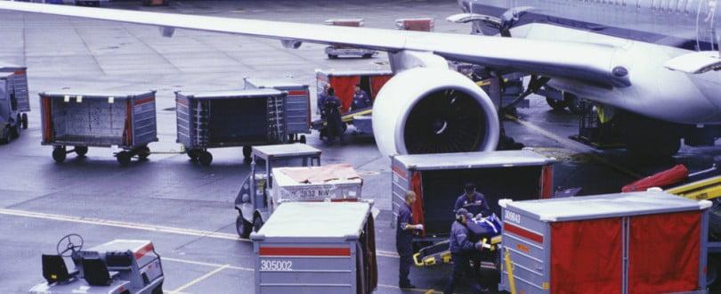 Movimentação de carga aérea cresce 10%