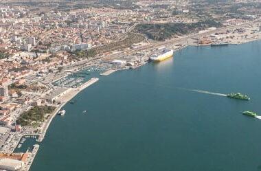 Porto de Setúbal volta a exportar cobre da Almina