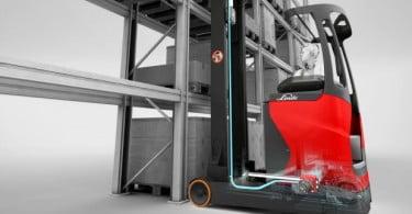Linde vai lançar novo sistema de assistência para empilhadores retráteis