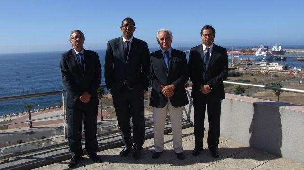 Presidente dos Portos de Cabo Verde reúne com a APS