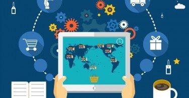 supply chain ilustração