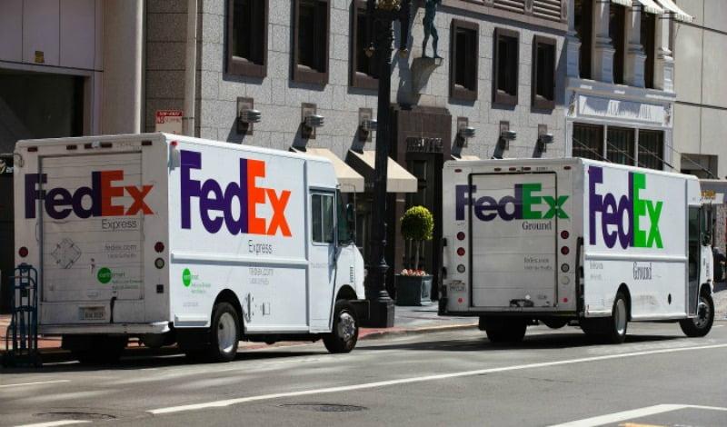 FedEx - carrinhas - destaque Logistica e Transportes Hoje