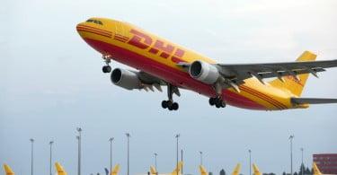 DHL Express avião Logística e Transportes Hoje