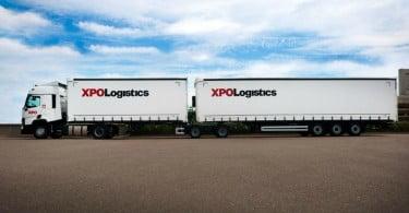link trailer XPO Logistics