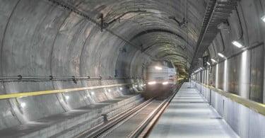 Túnel ferroviário de São Gotardo - transportes - Logística & Transportes Hoje
