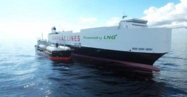 GNL - embarcação da Cepsa