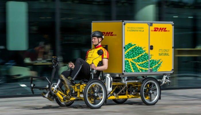 DHL Express - bicicleta elétrica - Logística e Transportes Hoje