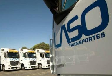 Laso Transportes - camião - Logística e Transportes Hoje