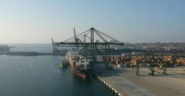 Movimento de mercadorias dos portos nacionais em queda