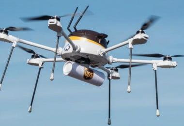 UPS- entregas com drones - Logística e Transportes Hoje