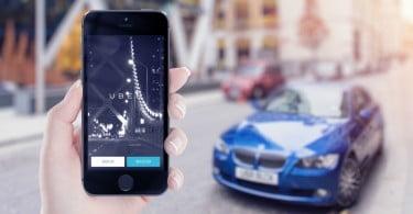 Uber - app - Logística & Transportes Hoje