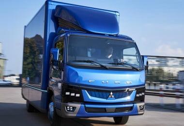 Fuso eCanter - camiões elétricos - Logística & Transportes Hoje