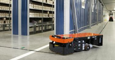 Toyota Material Handling transportadores guiado automatizado Logística e Transportes Hoje