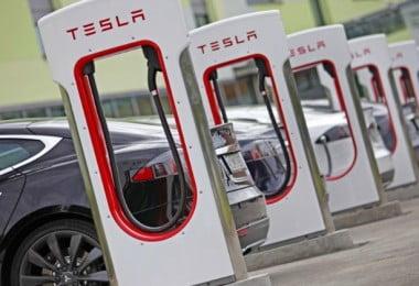 Tesla - carregadores automóveis - Logística e Transportes Hoje