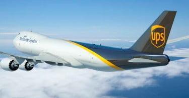 UPS - avião - Logística e Transportes Hoje