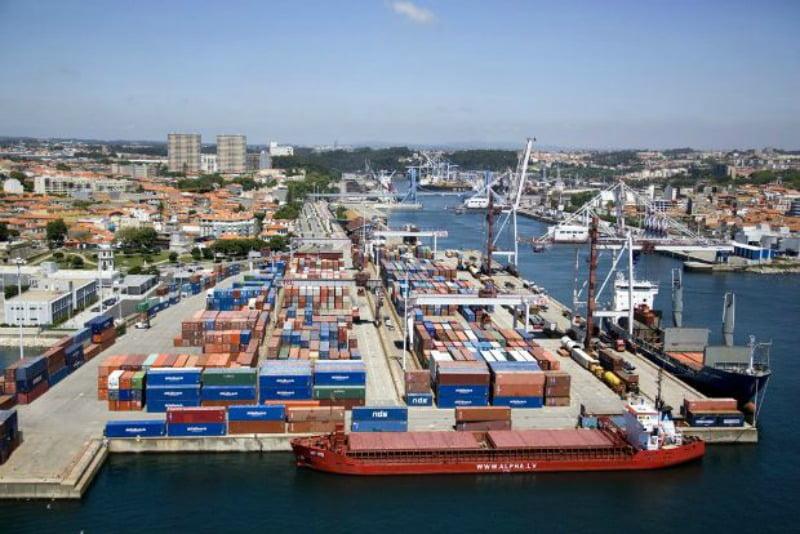 Porto de Leixões movimenta 9,7 milhões de toneladas no primeiro semestre