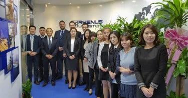 Grupo Rhenus na Coreia do Sul