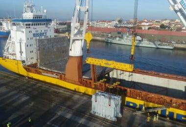 Porto de Leixões - transformadores Efacec - Logística e Transportes Hoje