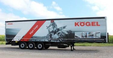 semirreboques Kogel serão apresentados em feira do setor na Holanda