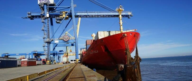 Portos nacionais movimentaram 88,1 milhões de toneladas de mercadorias em 2016