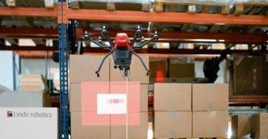 Drone Linde Material Handling - Logística e Transportes Hoje