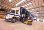 camião Palletways - hub logístico de Jaez