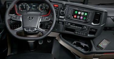 Scania - Apple CarPlay