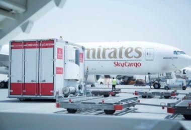 Emirates SkyCargo recebe certificação Cargo iQ