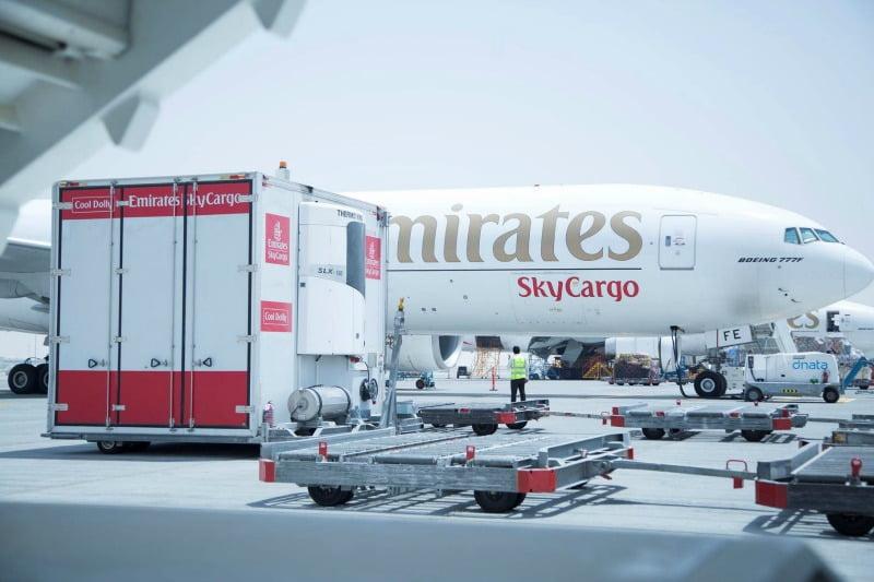 Emirates SkyCargo alarga presença no Reino Unido