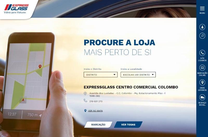 ExpressGlass lança plataforma para agendamento de serviços