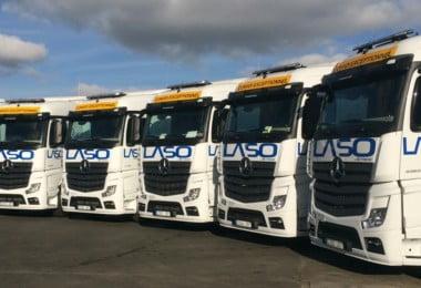 Laso Transportes abre nova delegação em Valência