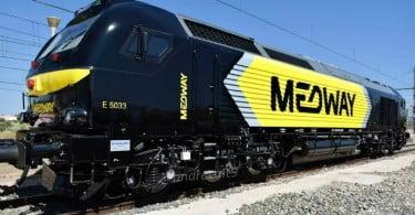 Medway batiza quatro novas locomotivas com nomes de familiares dos colaboradores