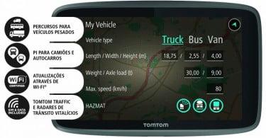TomTom lança gama de sistemas de navegação para profissionais