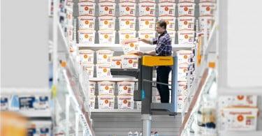 Jungheinrich lança plataforma de elevação elétrica para artigos pequenos