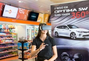 KIA - test-drives de realidade virtual - Logística e Transportes Hoje