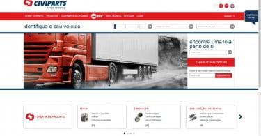 """Civiparts lança novo site """"mais funcional"""""""