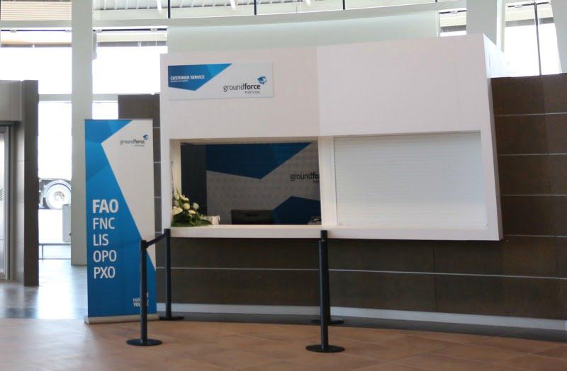 Groundforce retoma operação no Aeroporto de Faro