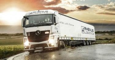 Rhenus Logistics - camião - Logística e Transportes Hoje
