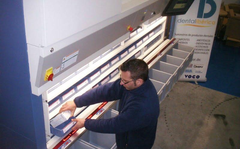 VRC instala armazém automático vertical na Dental Ibérica