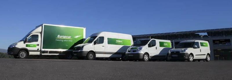 Europcar aposta em veículos refrigerados