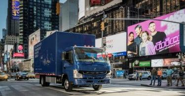 Mitsubishi lança primeiro veículo comercial pesado 100% elétrico