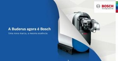 Buderus passa a operar sob a marca Bosch