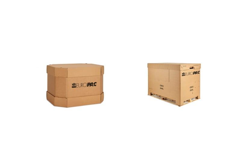 Europac lança novas embalagens Heavy Duty