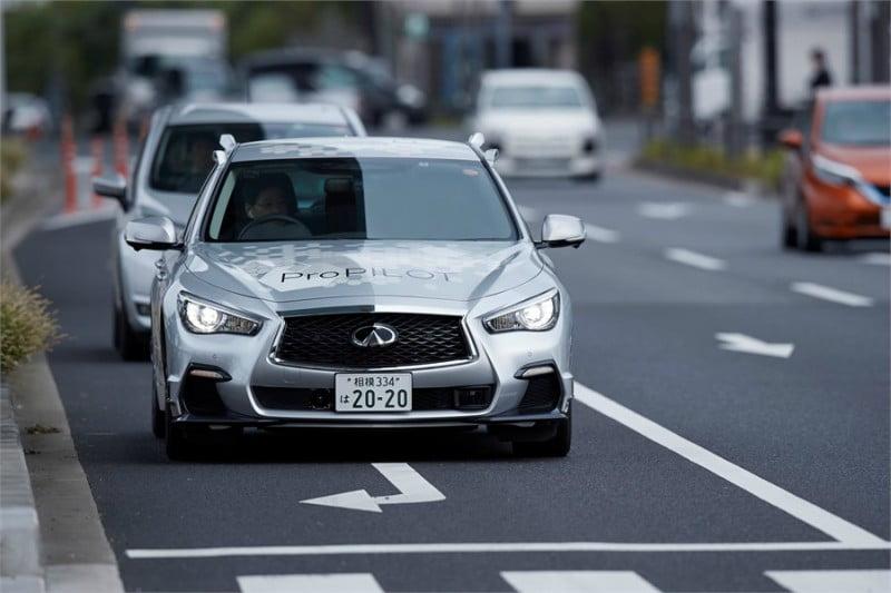 Nissan testa protótipo totalmente autónomo